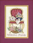 Набор для вышивки крестом Teatime Welcome -  Время чаепития