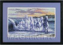 Набор для вышивки крестом The Wave - Волна