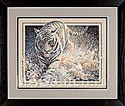 Набор для вышивки крестом White Lightning  - Белый тигр