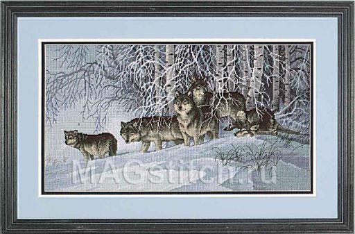 Lace - Волки в зимнем лесу