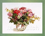 """Набор для вышивки крестом Голландские розы - Fujico """"Dutch roses"""""""