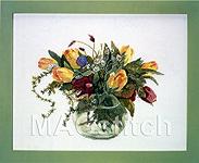 """Набор для вышивки крестом Травы и тюльпаны - Fujico """"Herbs & Tulips"""""""
