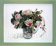 """Набор для вышивки крестом Розы """"Пьер де Ронсар"""" - Fujico """"Pierre de Ronsard"""""""