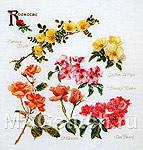 Набор для вышивки крестом Сорта роз