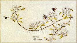 Набор для вышивки крестом Цветущее грушевое дерево