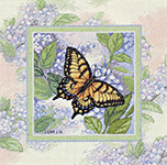Набор для вышивки крестом Butterfy whisper