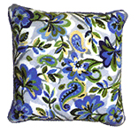 Набор для вышивки крестом Paisley floral in blue tapestry cushion