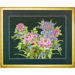 Набор для вышивки крестом Peony floral