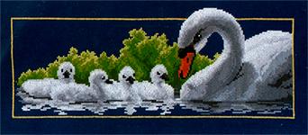 Набор для вышивки крестом Swan idylle