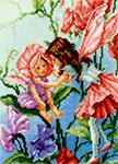 Набор для вышивки крестом Sweet pea fairies