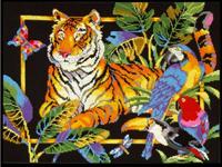 Набор для вышивки крестом Tiger