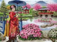 Набор для вышивки крестом The Japanese Garden - Японский сад