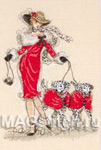 Набор для вышивки крестом Dancing Dalmatians - Танцующие далматинцы