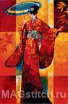 Набор для вышивки крестом Misaki - Мисаки