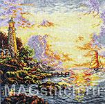 Набор для вышивки крестом Море Спокойствия - The Sea Of Tranquillity