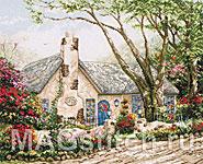 Набор для вышивки крестом Коттедж Сияние Утра - Morning Glory Cottage