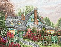 Набор для вышивки крестом Коттедж Любящее Сердце - Sweetheart Cottage