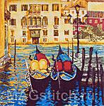 Набор для вышивки крестом Венеция - Venice