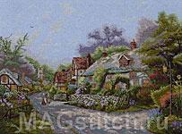 Набор для вышивки крестом Деревня Кобблстоун - Cobblestone Village