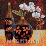 Набор для вышивки крестом Orquidea Linda - Красивая орхидея