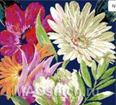 Набор для вышивки крестом Fan Fair - Цветная карусель