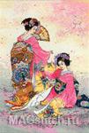 Набор для вышивки крестом Hutari Mai - Двое в ярком