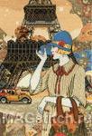 Набор для вышивки крестом Paris Adventures - Парижские приключения