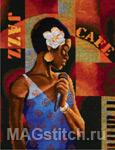 Набор для вышивки крестом Jazz Café - Джазз-кафе