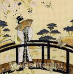 Набор для вышивки крестом Kimono Serenity - Кимоно Безмятежность