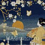 Набор для вышивки крестом Kimono Sunset - Кимоно Закат