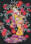 Набор для вышивки крестом Tsubaki - Камелия