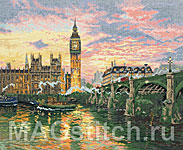 Набор для вышивки крестом Лондон - London