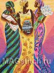 Набор для вышивки крестом Sisters of the sun - Сестры солнца