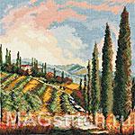 Набор для вышивки крестом Долина виноградников - Valley Vineyard