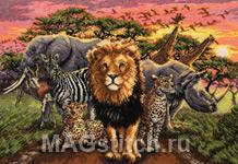 Набор для вышивки крестом African Beasts - Животные Африки