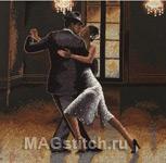 Набор для вышивки крестом Studio Tango - Уроки танго