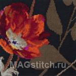 Набор для вышивки крестом Ember Black - Красные угольки на черном