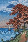 Набор для вышивки крестом Lake Chuzenji, Nikko - Озеро Чузенджи, Никко