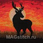 Набор для вышивки крестом Magestic Silhouette - Величавый силуэт
