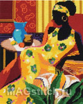 Набор для вышивки крестом Blue Vase - Голубая ваза