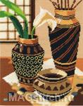 Набор для вышивки крестом African Bowl - Африканский сосуд