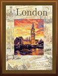 Набор для вышивки крестом Города мира. Лондон