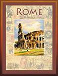 Набор для вышивки крестом Города мира. Рим