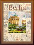 Набор для вышивки крестом Города мира. Берлин