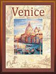 Набор для вышивки крестом Города мира. Венеция