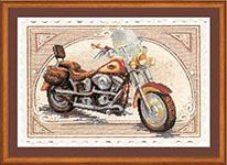 Набор для вышивки крестом Harley Davidson