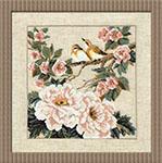 Набор для вышивки крестом Китайские мотивы - Весна