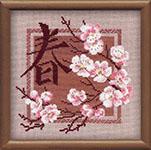 Набор для вышивки крестом Весна
