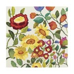 Набор для вышивки крестом Цветочный калейдоскоп 2 - Flower kaleidoscope 2