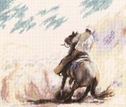 Набор для вышивки крестом Пыль прерий - Prairy dust